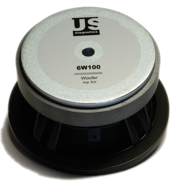 6W100-8 Woofer US.magnetics