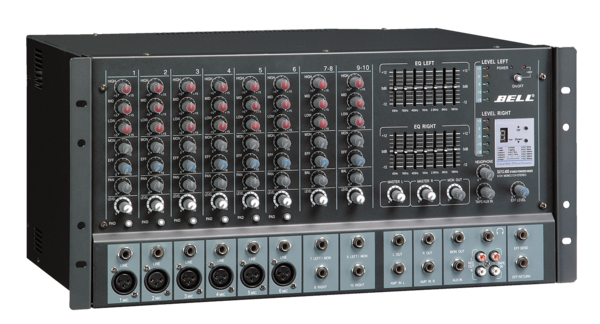 SX10.400 Stereo Powered Mixer