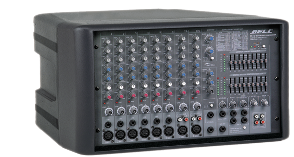 SX10.600R Stereo Powered Mixer
