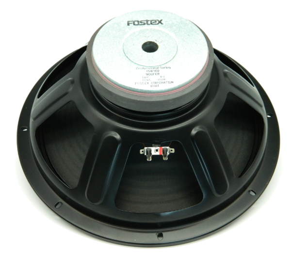 "15W110 Fostex 15"" Woofer, 4 OHM"